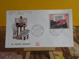 Violon Rouge Raoul Dufy - 76 Le Havre - 6.11.1965 FDC 1er Jour N°549 - Coté 4€ - 1960-1969