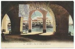 CPA ALGER / SOUS LES VOUTES DE L'AMIRAUTE / MUSEE DES OCCASES - Alger