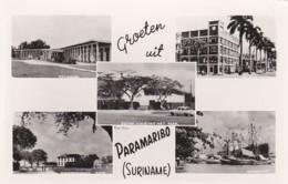 190929Groeten Uit Paramaribo. (rechtsboven Een Kleine Vouw) - Surinam