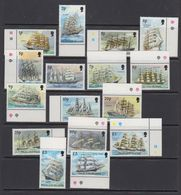 Falkland Islands 1989 Definitives / Cape Horners 16v ** Mnh (41763A) - Falklandeilanden