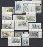 Falkland Islands 1989 Definitives / Cape Horners 15v ** Mnh (41763B) - Falklandeilanden