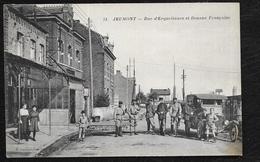 JEUMONT: RUE D'ERQUELINNES - Jeumont