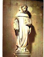 CPM* N°1444 - STATUE DE SAINT BERNARD DE CLAIRVAUX PAR A. LE MOITURIER XVe SIECLE - EGLISE DE FONTAINE-LES-DIJON - France