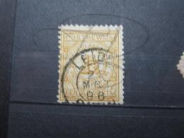 """VEND TIMBRE POUR MANDAT DES PAYS - BAS N° 1 , OBLITERATION """" LEIDEN """" !!! - 1852-1890 (Guillaume III)"""