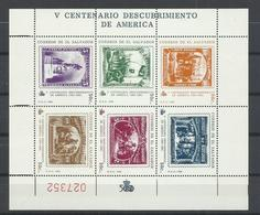 EL SALVADOR YVERT 1045A/F    MNH  ** - El Salvador