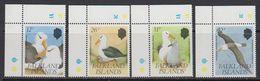 Falkland Islands 1990 Black Browed Albatross 4v (corners) ** Mnh (41764B) - Falklandeilanden
