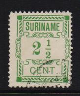 Dutch Surinam 1912, Nvphnr 66, Vfu - Surinam ... - 1975