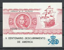 EL SALVADOR YVERT  H/B 34A     MNH  ** - El Salvador