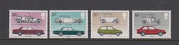 Great Britain Scott 1002-1005 1982 Cars,mint Never Hinged - 1952-.... (Elizabeth II)