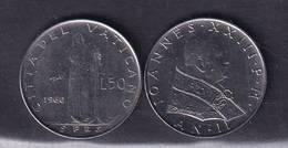 VATICANO VATIKAN VATICAN  1960 GIOVANNI XXIII I 50  Lire - Vaticano