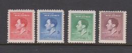New Guinea 1937 Coronation King George VI,Mint Never Hinged, - Papua New Guinea
