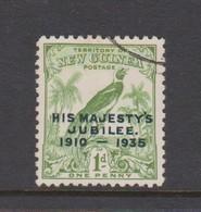 New Guinea 1935 Silver Jubilee 1d Green,used - Papua New Guinea