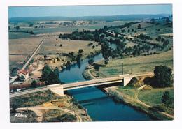 70 JUSSEY Vers Vesoul Vue Aérienne Le Pont De Cendrecourt Sur La Saône Scierie ? Canal Ecluse En Haut - Vesoul