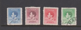Papua1937 Coronation King George VI,used - Papouasie-Nouvelle-Guinée