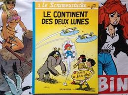 BD Le Scrameustache - Le Continent Des Deux Lunes - Gos (1994) - Scrameustache, Le