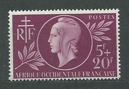 AOF  N°  1  **  TB  4 - Unused Stamps