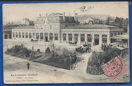 TOUL   La Gare     Animées   écrite En 1905 - Toul