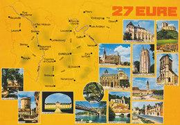 27 Département De L'Eure (2 Scans) - Francia