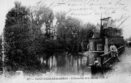 SAINT-NICOLAS-LES-ARRAS. L'ABREUVOIR ET LE MOULIN. Achat Immédiat - France