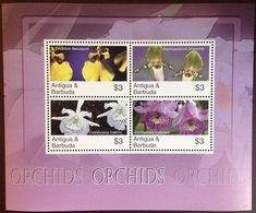 Antigua 2007 Orchids Sheetlet MNH - Orchideen