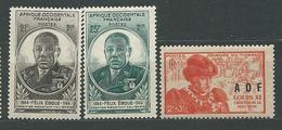 AOF  N°  2/3+23  **  TB  5 - Unused Stamps