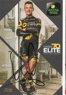 CYCLISME TOUR  DE  FRANCE  Autographe  THOMAS VOECKLER - Cyclisme