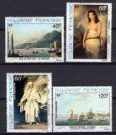 POLYNESIE ( AERIEN ) : Y&T  N°  163/166  TIMBRES  NEUFS  SANS  TRACE  DE  CHARNIERE . - Luftpost