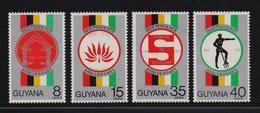 Guyana 1970, Independance, Complete Set, MNH - Guiana (1966-...)