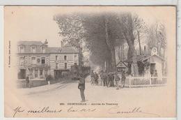 14 - OUISTREHAM - Arrivée Du Tramway Animée - Tramway - Ouistreham