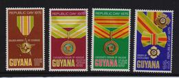 Guyana 1975, Republic Day, Complete Set, MNH - Guiana (1966-...)