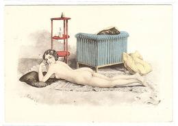 Illustrateur BARRE DAYEZ - N° 1252 A - FEMME NUE Allongée Sur Un Tapis - Femmes