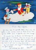 Thèmes > Poste & Facteurs Chag Rene Lettre Du Pere Noel - Poste & Facteurs