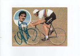 CYCLISME TOUR  DE  FRANCE  Autographe   ALAIN BONDUE - Radsport