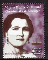 Panama 2002 Famous Women - Clara Gonzalez De Behringer, First Woman Lawyer,.MNH - Panama