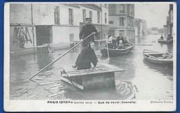PARIS   Crue De La Seine 1910    Rue De Javel   Grenelle     Animées - Paris Flood, 1910
