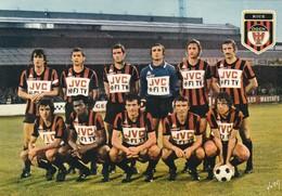 Rare CPSM YVON équipe De Football Nice 1977-1978 - Calcio
