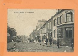 CPA  Décollée  - Albert  - ( Somme) - Rue D'Amiens - Albert