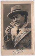 Photo Originale Dédicace à Mario Draveton Artiste Peintre 1934 Régisseur Opéra Toulon Signature à Déchiffrer - Fotos Dedicadas