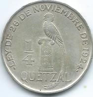 Guatemala - ¼ Quetzal - 1925 - KM240 - Guatemala