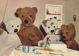 Rare CPSM Nounours ORTF Bonne Nuit Les Petits - Toy Memorabilia
