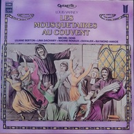 """Louis Varney 33t. LP """"les Mousquetaires Au Couvent"""" - Opera"""