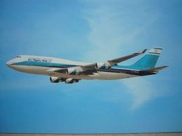 Avion / Airplane / EL AL / Boeing B 747-400 / Airline Issue / Size : 12X16,5cm - 1946-....: Ere Moderne