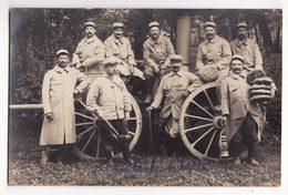 MILITARIA    16ème Compagnie Du 50ème Régiment    La Roulante    Carte Photo - Régiments