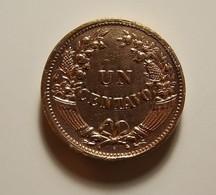 Peru 1 Centavo 1936 Varnished - Peru