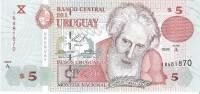 Uruguay  - Pick 80 - 5 Nuevos Pesos 1998 - Unc - Uruguay