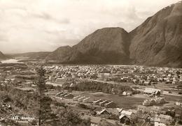 Noorwegen  / Norge : Mosjoen Panorama 1959 - Norvège