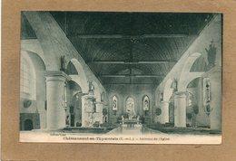 CPA - CHATEAUNEUF-en-THYMERAIS (28) - Aspect De L'intérieur De L'Eglise En 1927 - Châteauneuf
