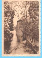"""Walcourt-+/-1940-La Rivière """"Eau D'Heure"""" Devant La Gare (pont)-Edit.L'Edition Belge, Bruxelles - Walcourt"""