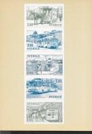 SVERIGE - TRAFFICO LOCALE - 08.10.1977 DA LIBRETTO NUOVA - Altri