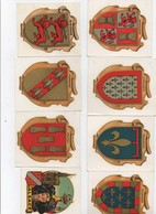 Thème Image   Sticker.Décalcomanie  .Ensemble Neuf De 11 Pièces Provinces De France. 9.5x7.5 Cms Voir Scana - Zonder Classificatie